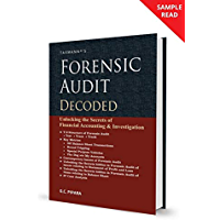 Taxmann's Forensic Audit Decoded-Unlocking the Secrets of Financial Accounting & Investigation (September 2020 Edition…