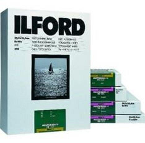 Ilford Multigrade FB Classic Fiber Based Variable Contrast, Doubleweight Black & White Enlarging Paper 42''x98' Roll, Matte - for Printing from Conventional Negatives. by Ilford