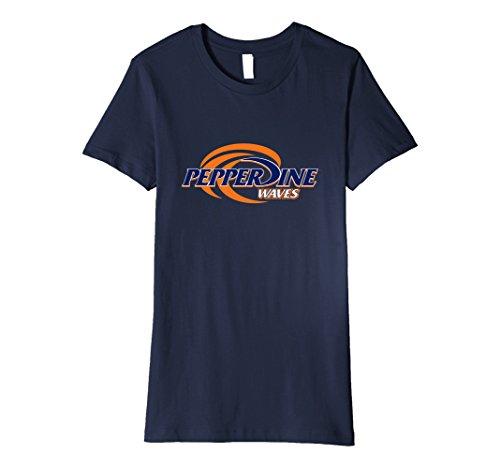 (Womens Pepperdine University Waves Womens NCAA T-Shirt RYLPEP06)