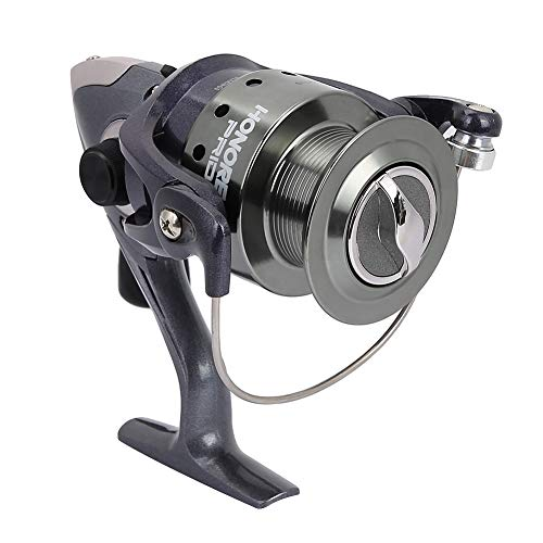 Cocoarm Spinning Fishing Reel, 11+1 Ball Bearings, Heavy Duty Plastic Mental Fishing Reel for Freshwater Saltwater