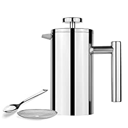 AmoVee Stainless Steel French Press