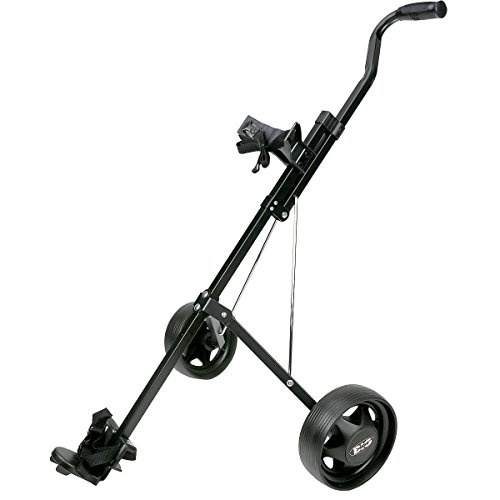 ProActive Sports Big Styx Junior Golf Push Cart (Black) (Youth Cart Golf)