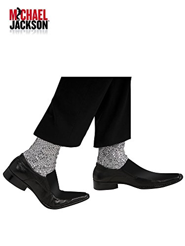 Michael Jackson Costume Accessory, Sparkle Socks