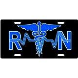 Registered Nurse RN License Plate Novelty Tag from Redeye Laserworks