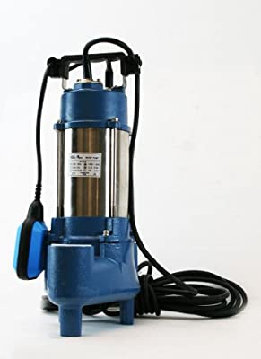 1.5HP Sewage Pump 7100GPH 220V Stainless Steel Submersible Pump