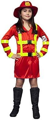 Disfraz de Bombera para niñas en varias tallas: Amazon.es ...