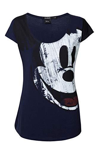 Desigual Camiseta 5000 Mickey Desigual Camiseta rEwIWqHFr