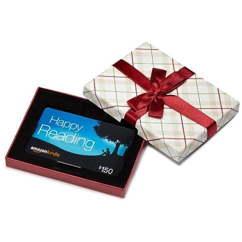 Amazon.com Gift Card in a Plaid Gift Box (Amazon Kindle Card Design) - 41oof6fs9QL - Amazon.com Gift Card in a Plaid Gift Box (Amazon Kindle Card Design)