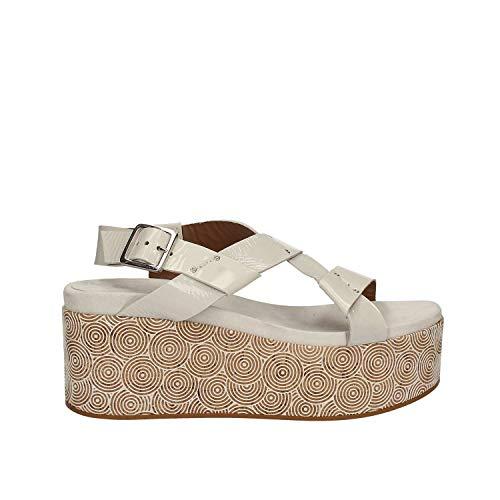 Mally Bianco Sandalo Donna Pxrewfu Zeppa 5792 8mN0wPyvnO