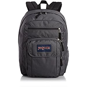 JanSport Mens Digital Carry Mainstream Digital Student Backpack - Forge Grey /One Size