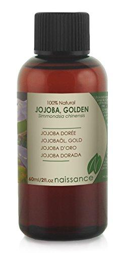 Jojobaöl Gold - 100% reines kaltgepresstes Öl - 60ml