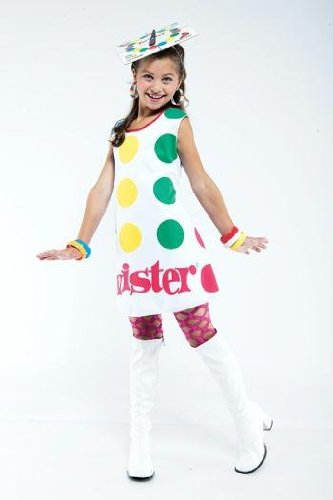 Twister License Child Large 10-12 Costume - Twister Girl Halloween Costume