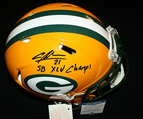Charles Woodson Signed Helmet - Authentic Speed Beckett BAS - Beckett Authentication - Autographed NFL Helmets