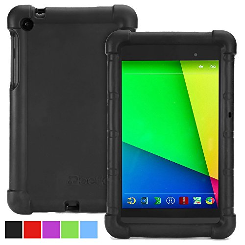 Google Nexus 7 2013 Case - Poetic Google Nexus 7 2013 Case [Turtle Skin Series] - [Corner/Bumper Protection] [Grip] [Sound-Amplification] Protective Silicone Case for Google Nexus 7 2nd Gen 2013 - Nexus Case Tablet Inch 7