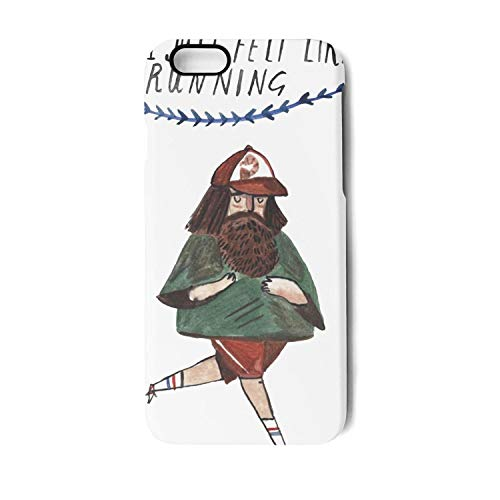 Case Fit for phone7/8 Plus,Shock Absorbent Forrest-Gump-Illustration- Anti Slip TPU Protect Cover fits iPhone7&8 Plus