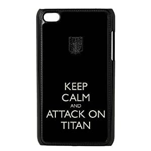 Special Design Case Ipod Touch 4 Black Cell Phone Case Ixhgp Attack On Titan Durable Rubber Cover