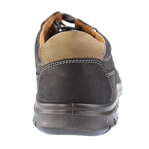 Jomos - Zapatos de cordones de Piel para hombre negro