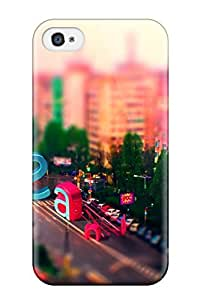 Hot Design Premium AbQeHGY3143evlAL Tpu Case Cover Iphone 4/4s Protection Case(tilt Shift)