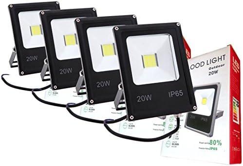 GH Pack 4 focos LED 12v / 24v 20W luz Blanca Fria: Amazon.es: Hogar