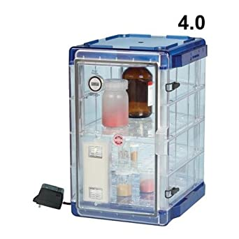 Bel-Art F42074-1100 Secador Model 4.0 Vertical Auto-Desiccator Cabinet, 1.9 cu. ft, 100V: Amazon.com: Industrial & Scientific