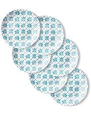 Corelle 1137320 Style Collection Lunch Plates, 6-Piece, Amalfi Verde