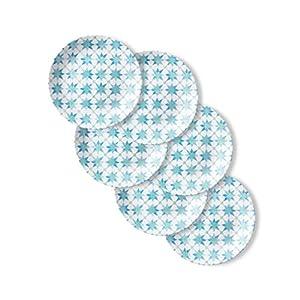 Corelle Chip Resistant Lunch Plates, 6-Piece, Amalfi Verde 41ooir2TrKL