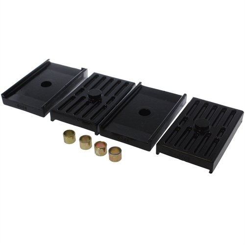 Energy Suspension 3.6112G Leaf Springs - Energy Suspension Leaf Spring Pads Bushings - Leaf Spring Pads - Multi-Leaf - Black - Chevy - Pontiac - Camaro - Chevy II - Nova - Firebird - Pair ()