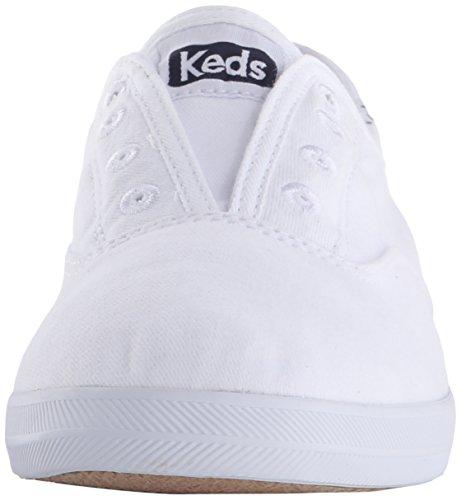 Keds Chillax Seasonal Solids White 54619 (Weiß) Damen Turnschuhe (37)