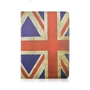 CeeMart British Flag Design PU Leather Full Body Case