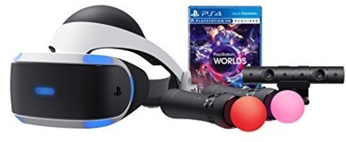 PlayStation VR - Worlds Bundle [Discontinued] (Best Sony Ps4 Headset)
