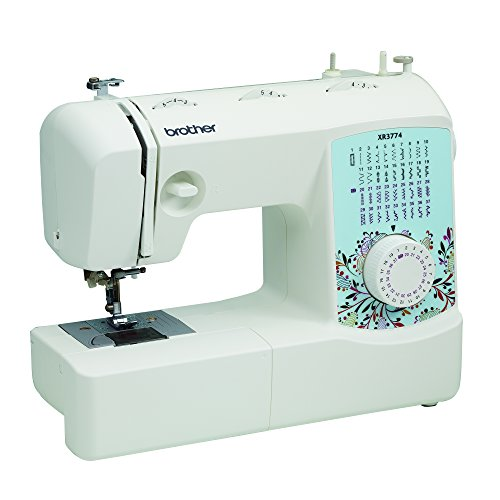 Brother XR3774 Full-Featured Sewing and Quilting Machine with 37 Stitches, 8 Sewing Feet, Wide Table, and Instructional DVD - Sewing And Quilting Machines