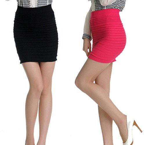 Damen Tutu Unterkleid Röcke , Petticoat Kleid 50er Rockabilly | Festliches Damenkleid | Blickdicht Fluffiger Ballettrock | Unterröcke Brautkleid Tüllröcke | Karneval Fasching Kostüm Pink