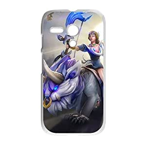 Motorola G Cell Phone Case White Defense Of The Ancients Dota 2 MIRANA 008 PWI3502834