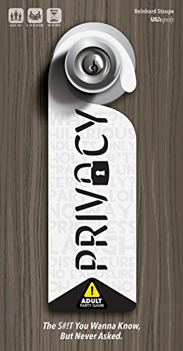 Privacy – Adult Party Game | 18+ Board Game | Fun Drinking Game to play with Friends | Reveal your friends secrets with…