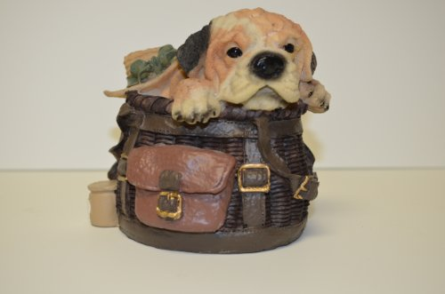 Resin Shar-Pei Bag Bank