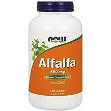 NOW Alfalfa 650 mg,500 Tablets