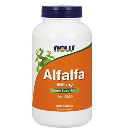 NOW Alfalfa 650 mg,500 Tablets