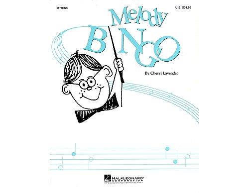 Bingo Melody - Hal Leonard Melody Bingo (Replacement CD) CD Composed by Cheryl Lavender