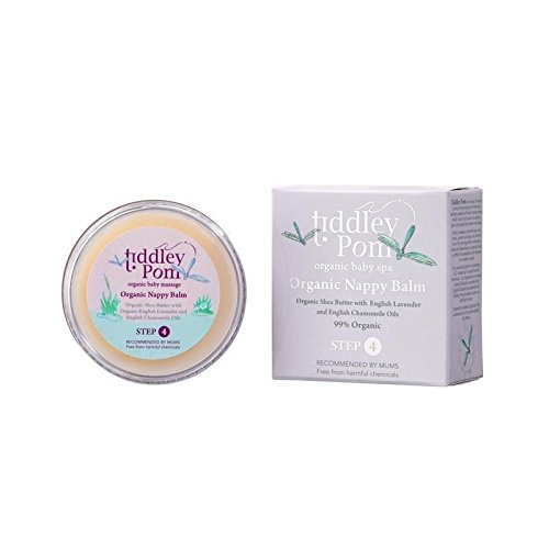 Tiddley Pom Organic Nappy Balm 50g - Pack of 4 by Tiddley Pom