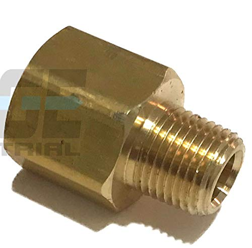 (EDGE INDUSTRIAL Brass Pipe Adapter 1/4