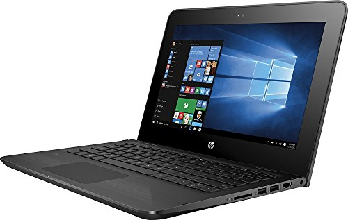 HP X360 11-AB011DX 11.6-Inch Touchscreen 2-in-1 Convertible Premium HD Laptop (Intel celeron N3060, 4GB RAM, 32GB eMMC, Windows 10 Home) Black by HP (Image #2)