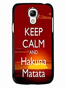 Treasure Infinity Hakuna Matata Lion king Accessories Slim Fit Case for Samsung Galaxy S4 Mini I9195 Upup's Case