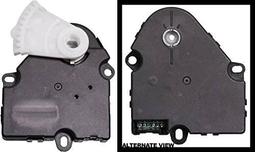 APDTY 715221 HVAC Air Door Actuator Main Mode 2004-07 Buick Rainier 2003-2009 Chevy Trailblazer GMC Envoy Isuzu Ascender 03-04 Bravada 05-09 Saab 9-7x (Replaces 15-73596, 89018675, 52402610, 89018384)