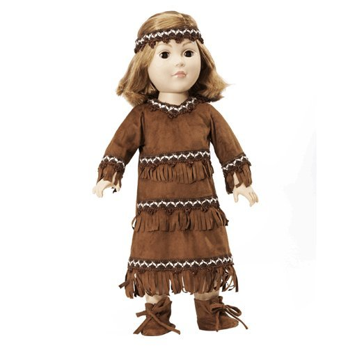 Native American Doll Costume Fits any 18 inch dolls
