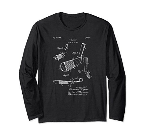 Golfers Vintage 1925 Golf Iron Patent Print Gift Shirt for sale  Delivered anywhere in USA