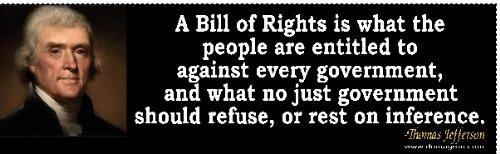 Thomas Jefferson Quote 1 Bumper Sticker