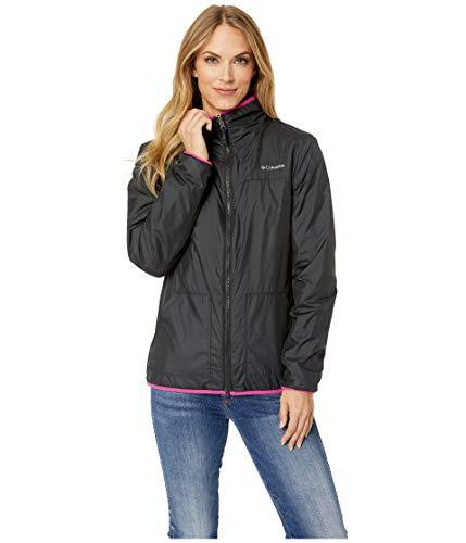 Fleece Reversible Jacket - Columbia Mountain Side Reversible Fleece Sweater, Small, Black