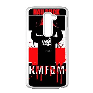LG G2 Cell Phone Case Covers White KMFDM Vycax