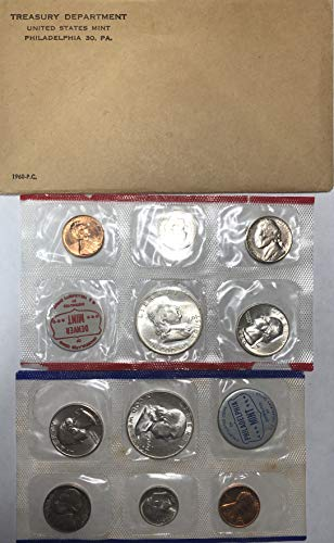 - 1960 P D Silver US Mint Set Comes in Original US mint packaging US Mint