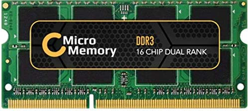 MicroMemory 8GB Module for Lenovo 1600MHz DDR3, MMLE010-8GB (1600MHz DDR3 SO-DIMM)